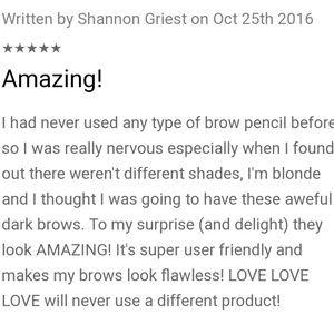 Billion Dollar Brows Makeup - 💕2💕Billion Dollar Brows Universal Brow Pencil